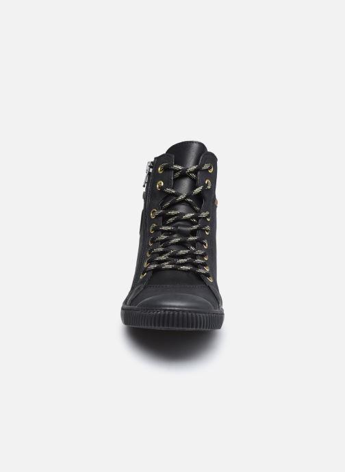 Baskets Pataugas BONO/N F4E Noir vue portées chaussures
