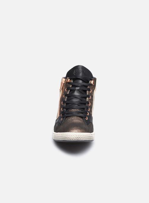 Baskets Pataugas JULIA/MIX F4F Noir vue portées chaussures