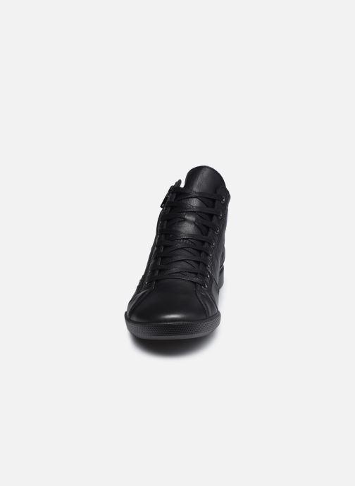 Baskets Pataugas PALME/N F4D Noir vue portées chaussures