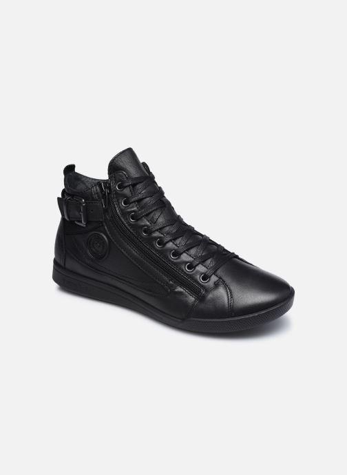 Baskets Pataugas PALME/N F4D Noir vue détail/paire
