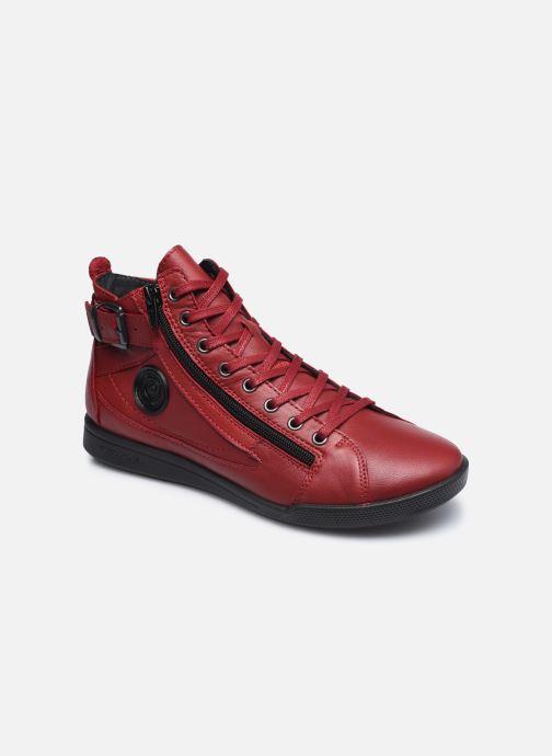 Sneaker Pataugas PALME/N F4D weinrot detaillierte ansicht/modell