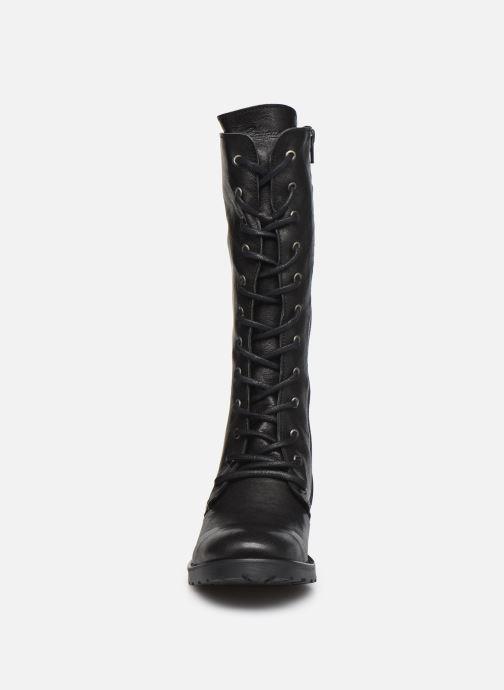 Bottes Pataugas DOLCE F4F Noir vue portées chaussures