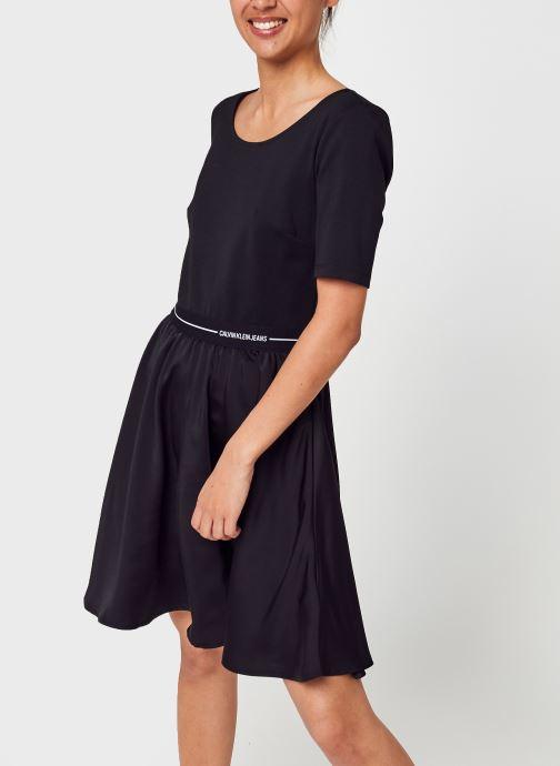 Kleding Accessoires Logo Elastic Dress