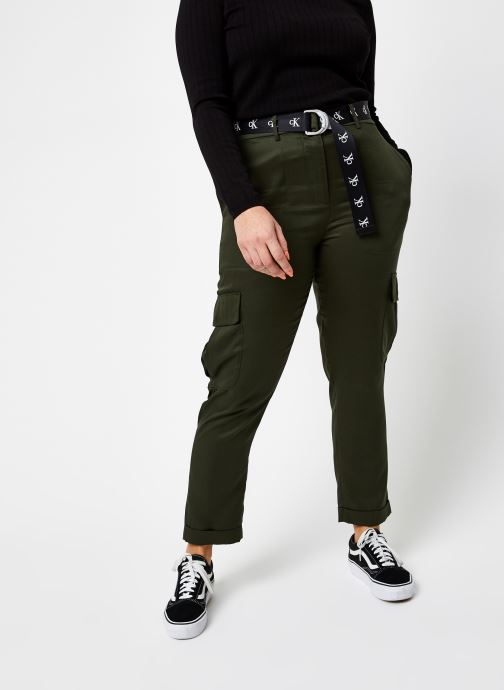 Belted Utility Tapered Pant