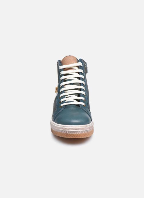 Sneaker Bisgaard Deva blau schuhe getragen