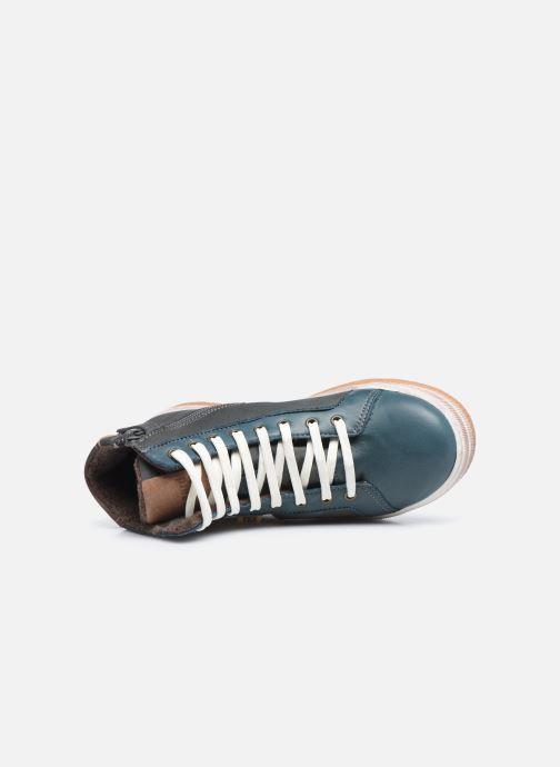 Sneaker Bisgaard Deva blau ansicht von links