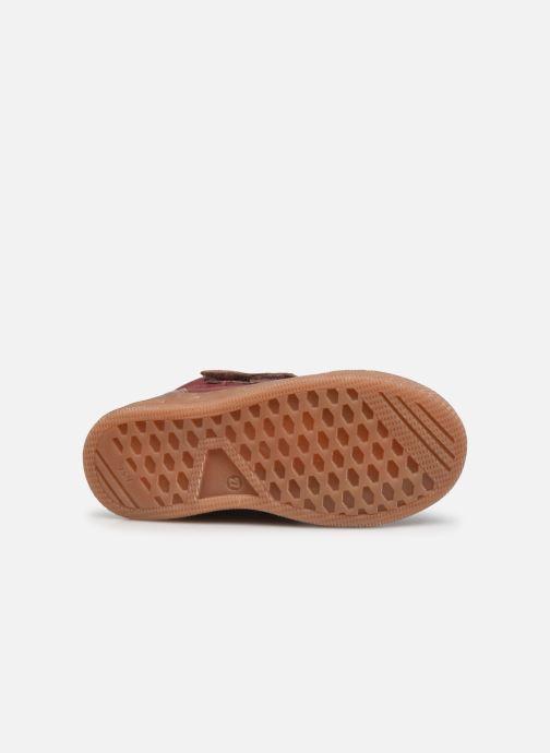 Sneaker Bisgaard Juno rosa ansicht von oben