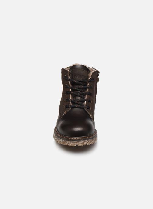 Zapatos con cordones Bisgaard Hector Marrón vista del modelo