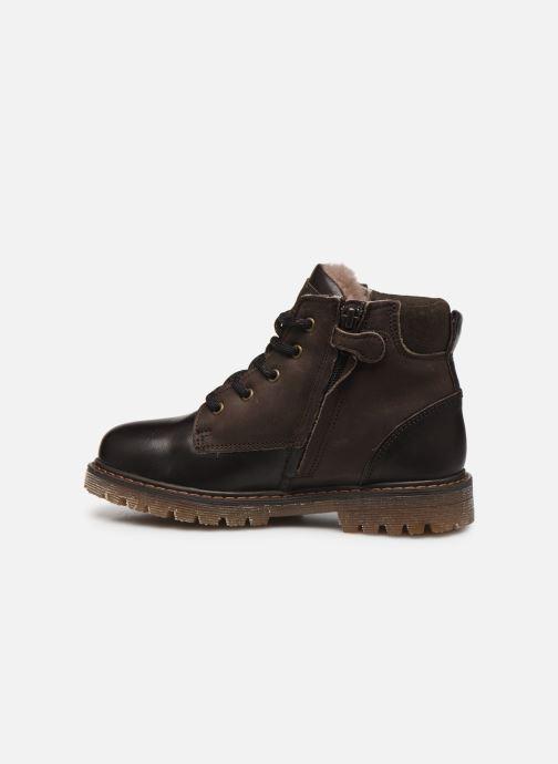 Chaussures à lacets Bisgaard Hector Marron vue face