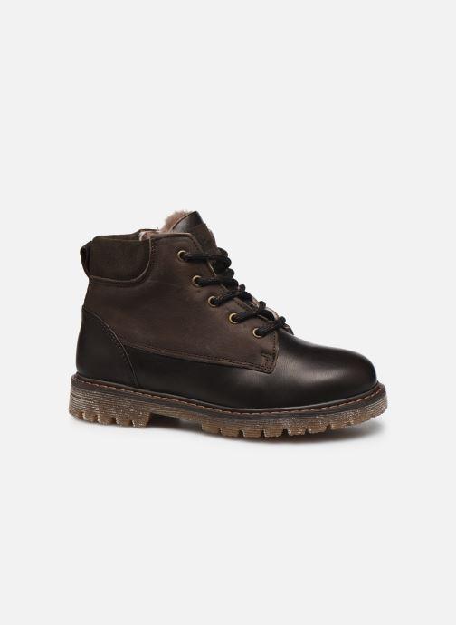 Chaussures à lacets Bisgaard Hector Marron vue derrière