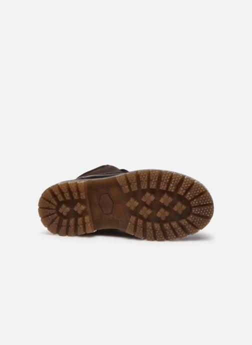 Chaussures à lacets Bisgaard Hector Marron vue haut