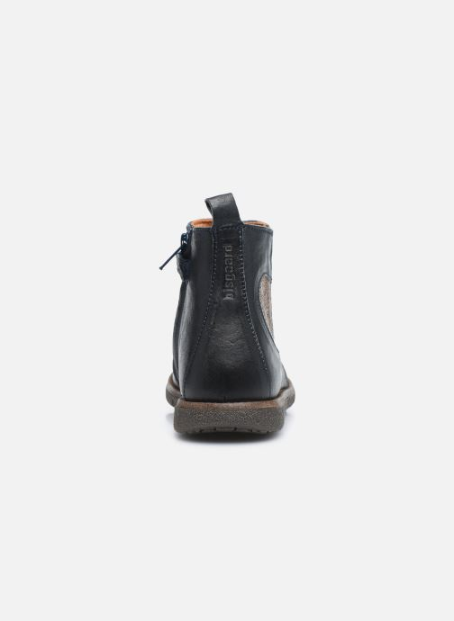 Bottines et boots Bisgaard Maggie Bleu vue droite