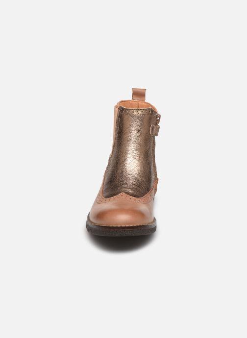 Boots en enkellaarsjes Bisgaard Mille Goud en brons model