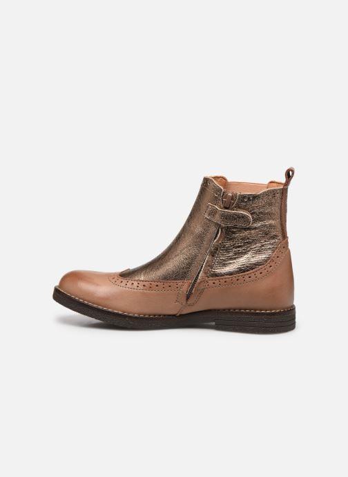 Boots en enkellaarsjes Bisgaard Mille Goud en brons voorkant