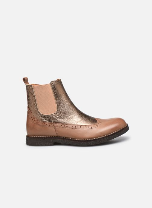 Boots en enkellaarsjes Bisgaard Mille Goud en brons achterkant