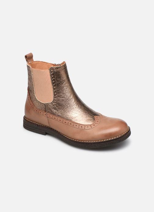Boots en enkellaarsjes Bisgaard Mille Goud en brons detail