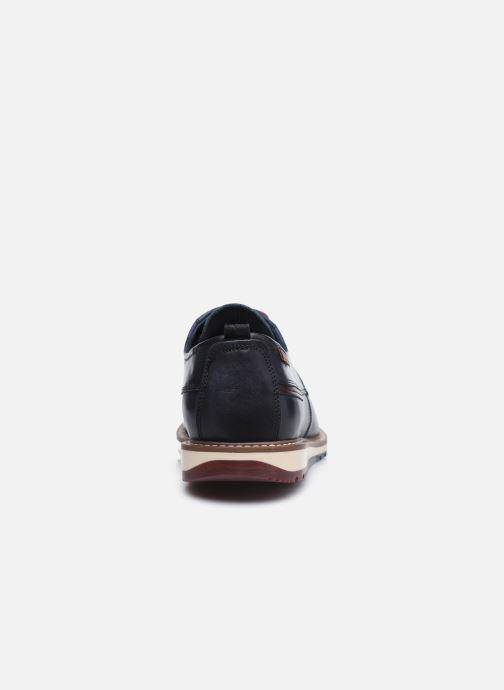 Zapatos con cordones Pikolinos BERNA M8J-4314 Azul vista lateral derecha