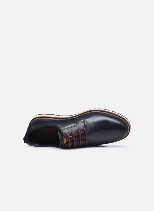 Zapatos con cordones Pikolinos BERNA M8J-4314 Azul vista lateral izquierda