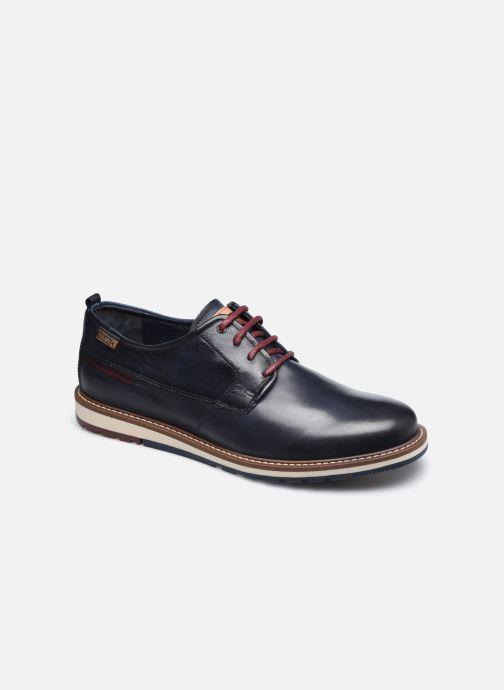 Zapatos con cordones Pikolinos BERNA M8J-4314 Azul vista de detalle / par