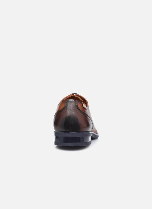 Zapatos con cordones Pikolinos BRISTOL M7J-4187C3 Marrón vista lateral derecha