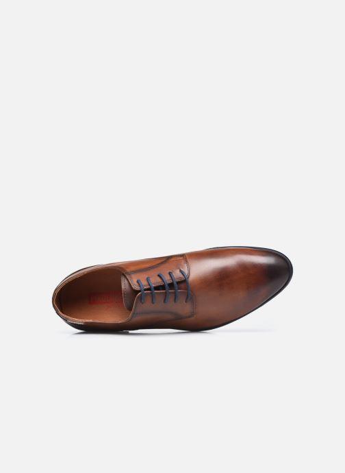 Zapatos con cordones Pikolinos BRISTOL M7J-4187C3 Marrón vista lateral izquierda
