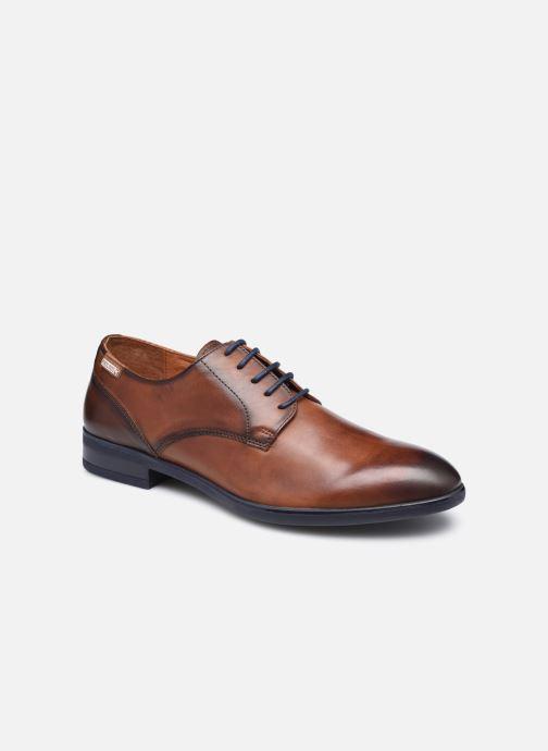 Zapatos con cordones Pikolinos BRISTOL M7J-4187C3 Marrón vista de detalle / par