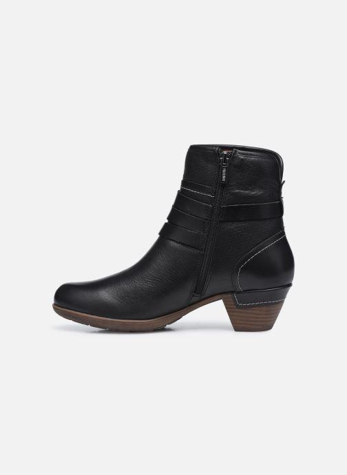 Stiefeletten & Boots Pikolinos ROTTERDAM 902-8593 schwarz ansicht von vorne