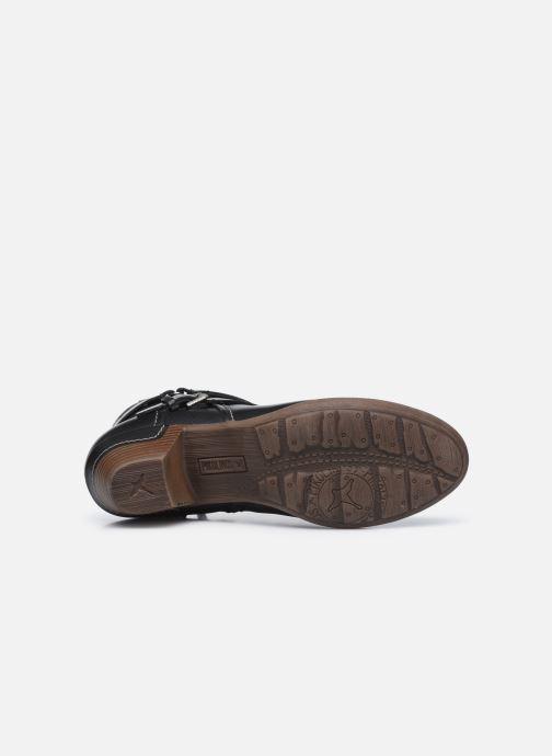 Stiefeletten & Boots Pikolinos ROTTERDAM 902-8593 schwarz ansicht von oben