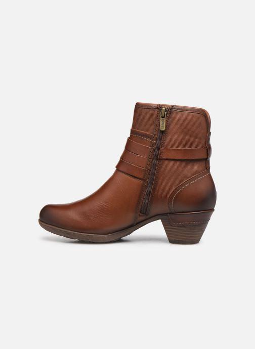 Boots en enkellaarsjes Pikolinos ROTTERDAM 902-8593 Bruin voorkant