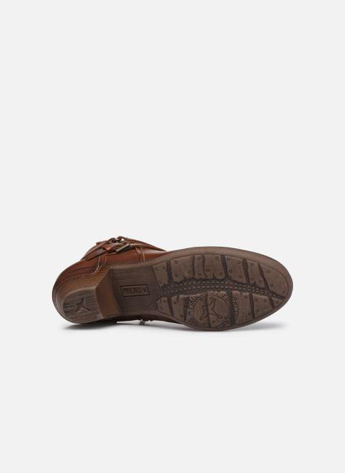 Stiefeletten & Boots Pikolinos ROTTERDAM 902-8593 braun ansicht von oben