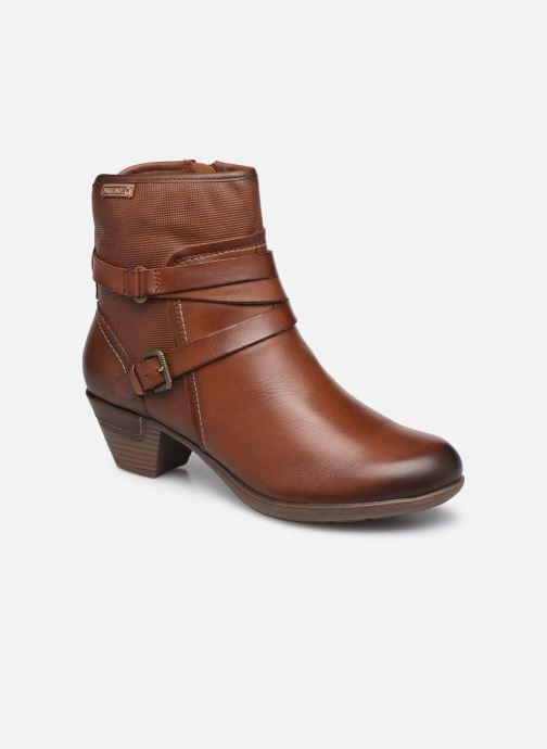 Boots en enkellaarsjes Pikolinos ROTTERDAM 902-8593 Bruin detail