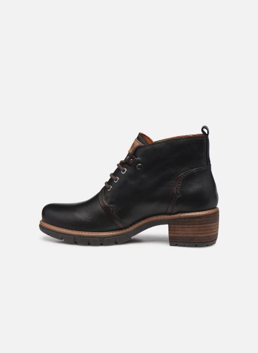 Stiefeletten & Boots Pikolinos SAN SEBASTIA W1T-8776 schwarz ansicht von vorne