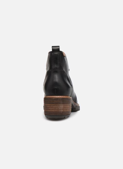 Stiefeletten & Boots Pikolinos SAN SEBASTIA W1T-8776 schwarz ansicht von rechts