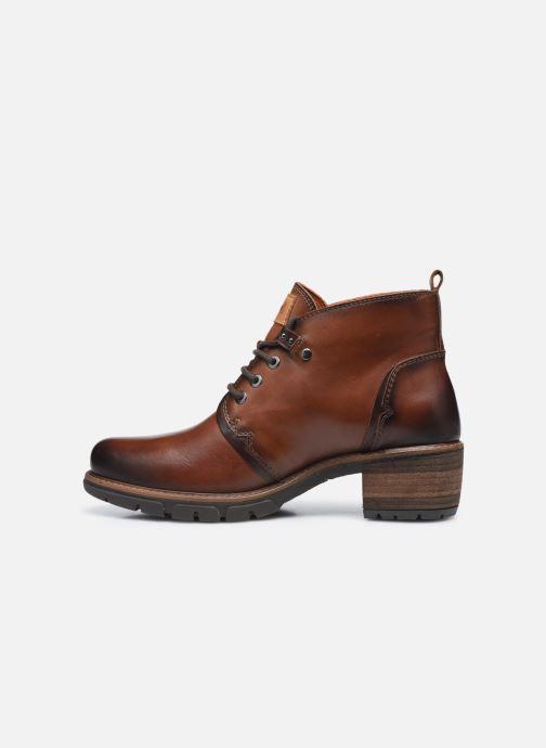 Boots en enkellaarsjes Pikolinos SAN SEBASTIA W1T-8776 Bruin voorkant