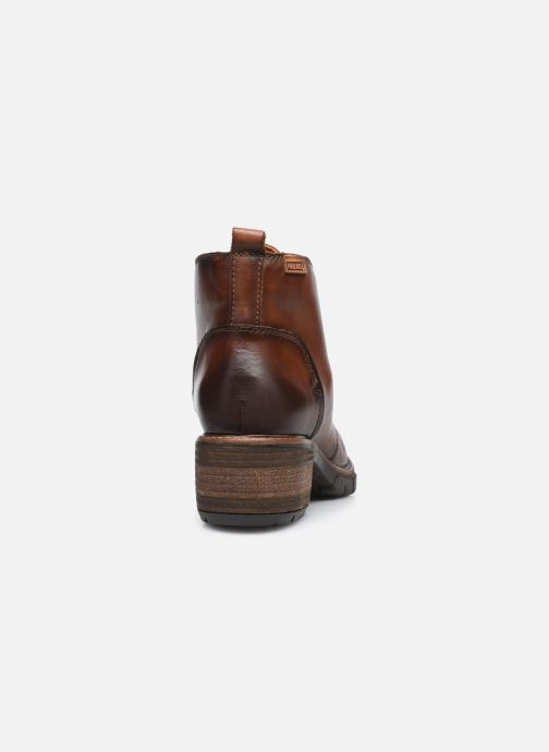 Boots en enkellaarsjes Pikolinos SAN SEBASTIA W1T-8776 Bruin rechts