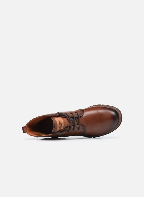 Boots en enkellaarsjes Pikolinos SAN SEBASTIA W1T-8776 Bruin links