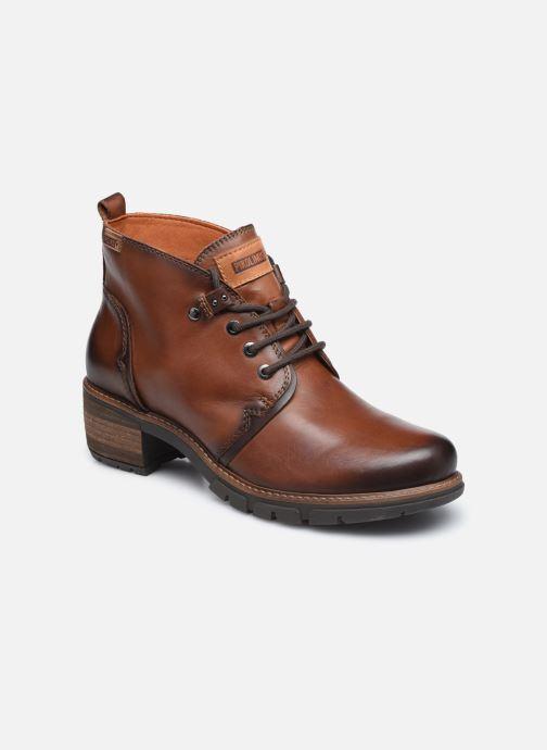 Boots en enkellaarsjes Pikolinos SAN SEBASTIA W1T-8776 Bruin detail