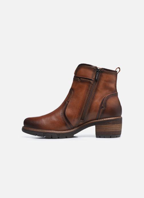 Boots en enkellaarsjes Pikolinos SAN SEBASTIA W1T-8777 Bruin voorkant