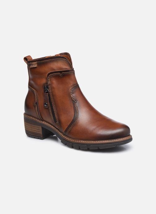 Boots en enkellaarsjes Pikolinos SAN SEBASTIA W1T-8777 Bruin detail
