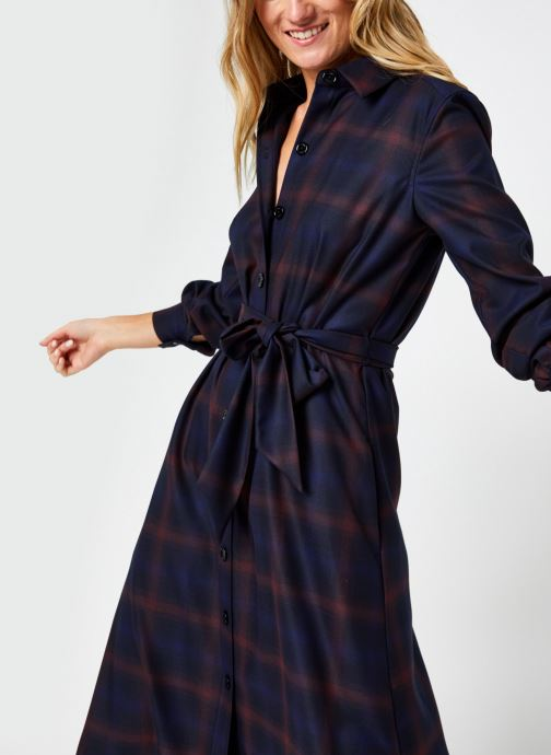 Robe midi - Shadow Check Shirt Dress Ls