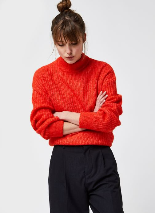 Kleding Accessoires TEXTURED STITCH MOCK-NK SWEATER