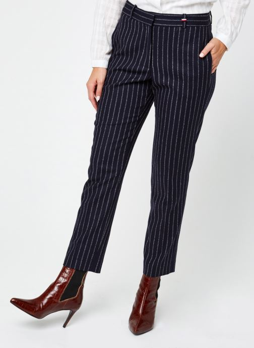 Kleding Accessoires Slim Pinstripe Ankle Pant