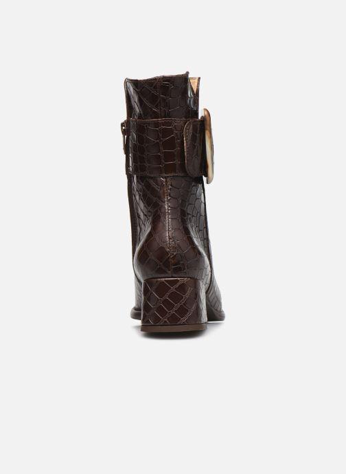 Boots en enkellaarsjes Neosens ALAMIS S3044 Bruin rechts