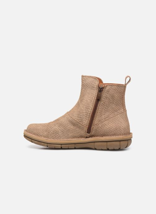Boots en enkellaarsjes Art MISANO 1730P Beige voorkant