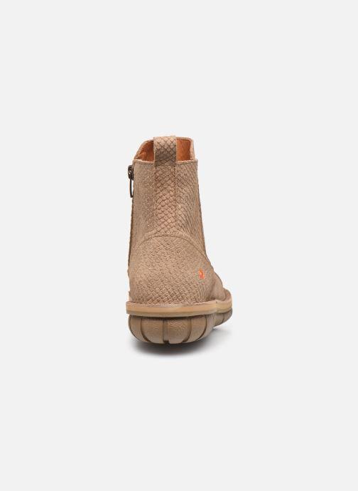 Bottines et boots Art MISANO 1730P Beige vue droite