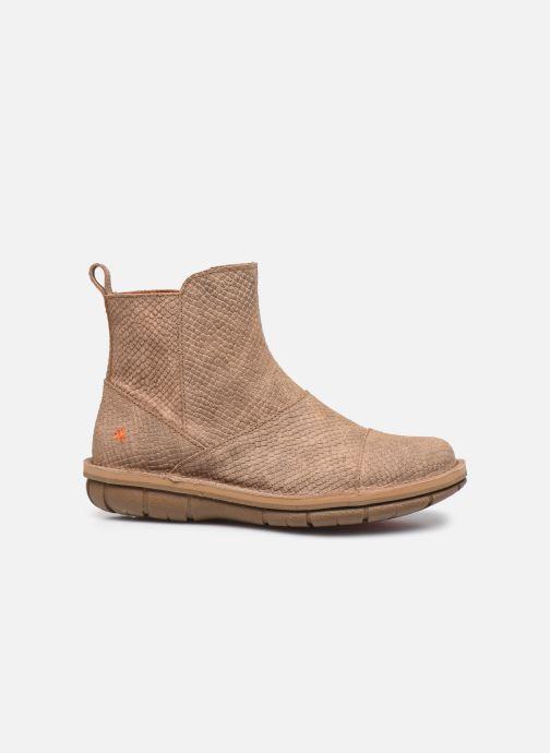 Boots en enkellaarsjes Art MISANO 1730P Beige achterkant