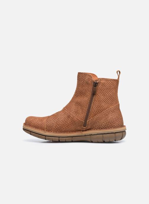 Boots en enkellaarsjes Art MISANO 1730P Bruin voorkant