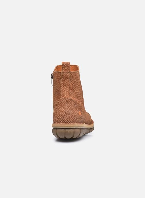 Boots en enkellaarsjes Art MISANO 1730P Bruin rechts