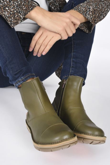 Bottines et boots Art MISANO 1730 Vert vue bas / vue portée sac