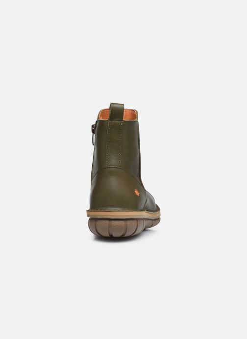 Boots en enkellaarsjes Art MISANO 1730 Groen rechts